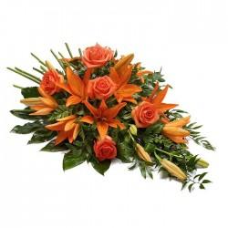 Ramo Funeral Naranja