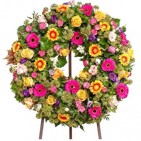 Corona de flores Prisma