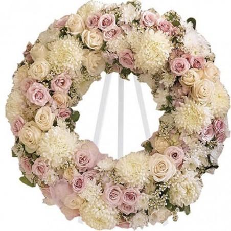 Corona de flores Alborada