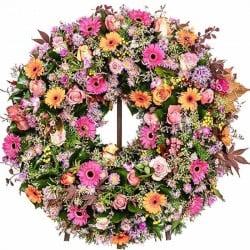 Corona de flores Rondela