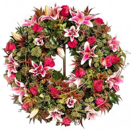 Corona de flores Vértice
