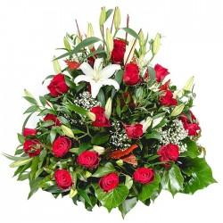 Centro de flores para funeral 0092CR
