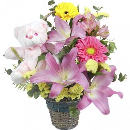 Centro de flores Princesa