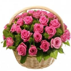 2 Docenas de Rosas Fucsia