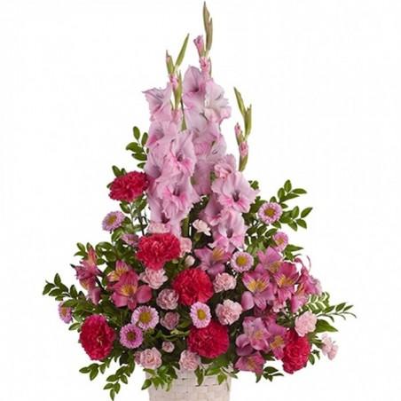 Centro de flores funerario Cf 0087