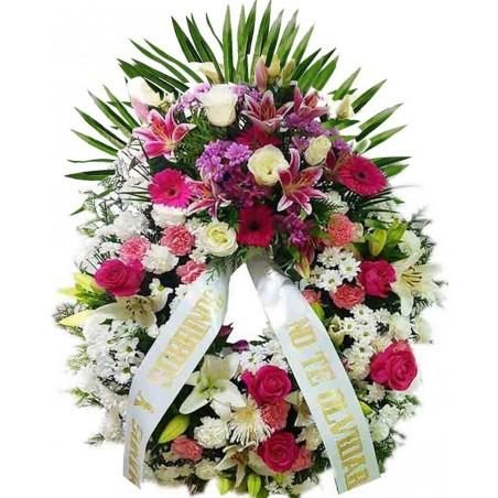 Corona de flores Penta