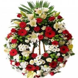 Corona de flores Gamma