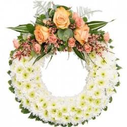 Corona de flores Guadarrama