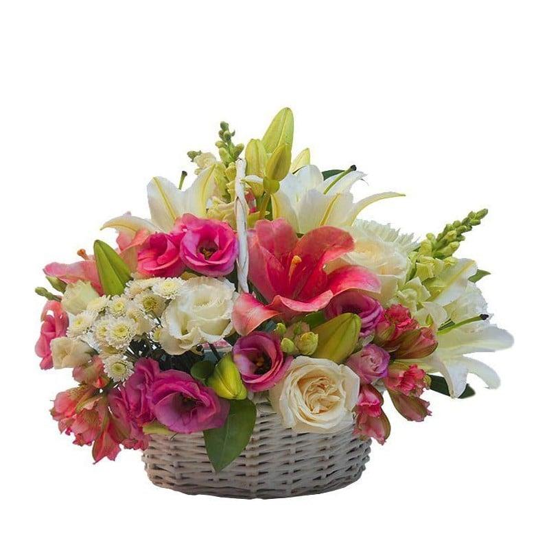 Centro de flores Bruma