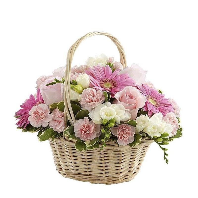 Centro de flores Cuarzo
