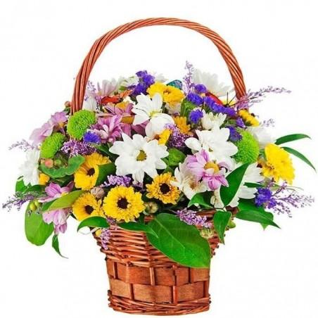 Centro de flores Corola