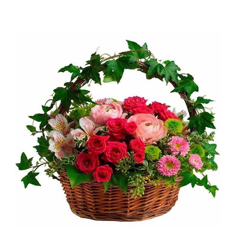 Cesta de flores Tamesis
