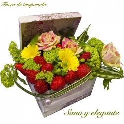 Flores y Fresas