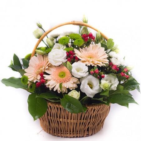 Cesta de flores Peñafría