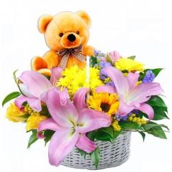 Flores para nacimientos.