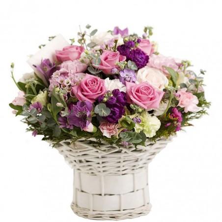 Cesta de flores provenzal