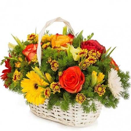 Cesta de flores Borne