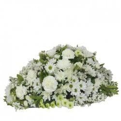 Almohadón de Flores Blancas