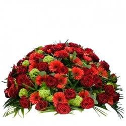 Centro de flores para funeral 8