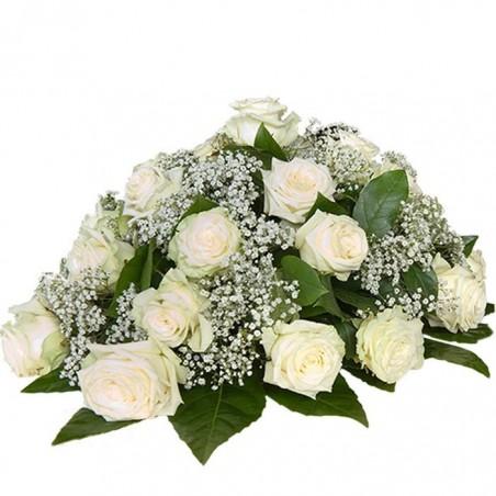 Centro ovalado para funeral 1