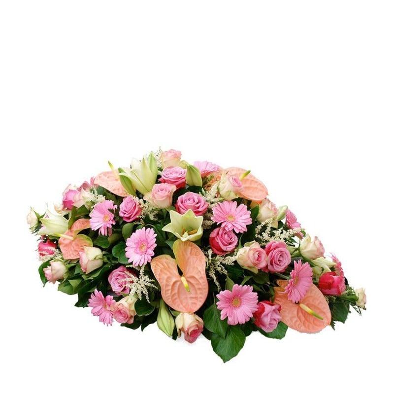 Centro de flores fúnebre Atlántico