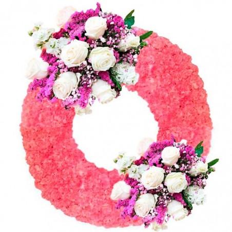 Corona de flores Adorada 2