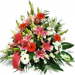 Centro de flores funeral M30