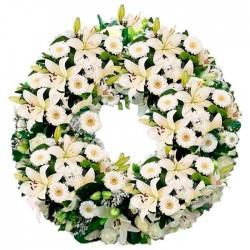 Corona de flores Madrid M30