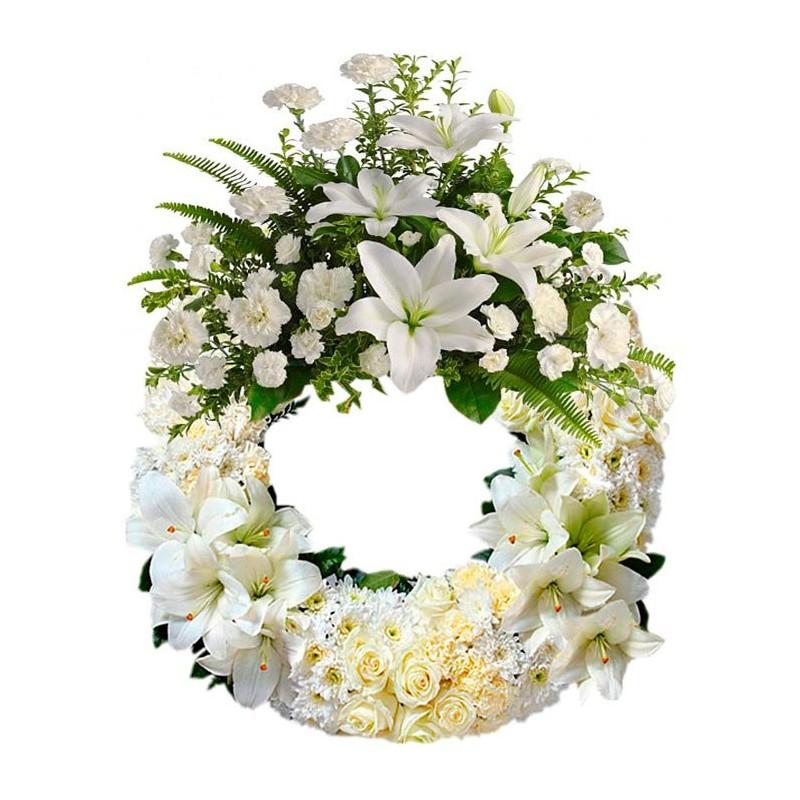 Corona Funeraria para tanatorio de la paz