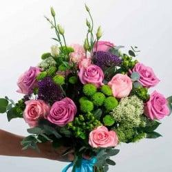 mandar flores en madrid capital