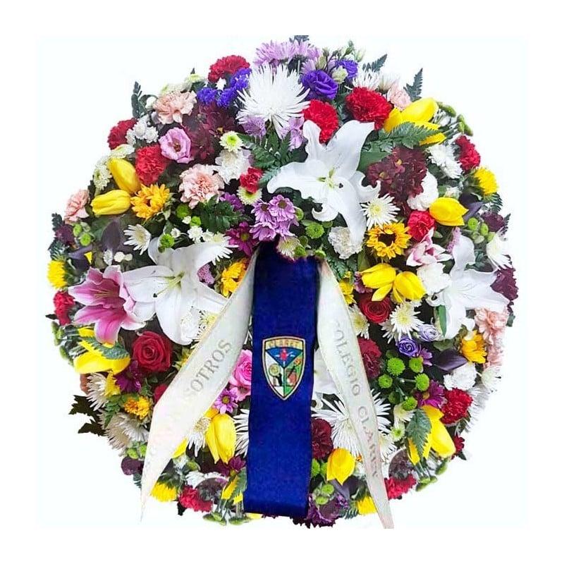 Corona de flores Leader