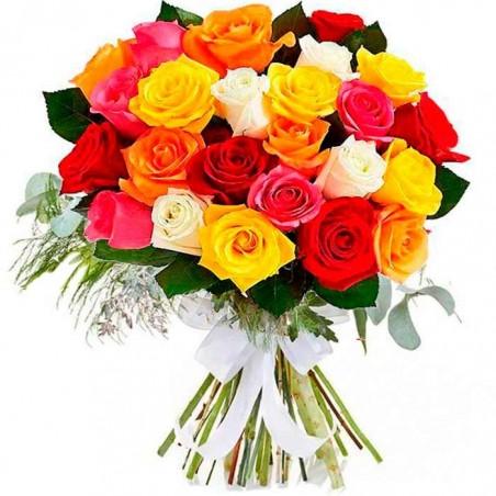 20 Rosas de colores Tc
