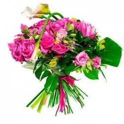 Ramo de Flores variadas Magenta.