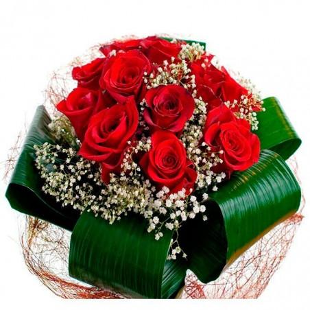 Rosas rojas Venecia