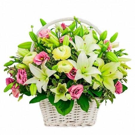 Cesta de flores Arauca
