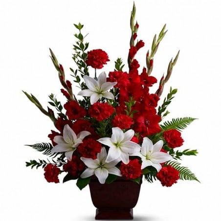 Centro flores funeral 007