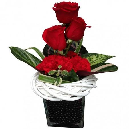 Perlas negras y rosas