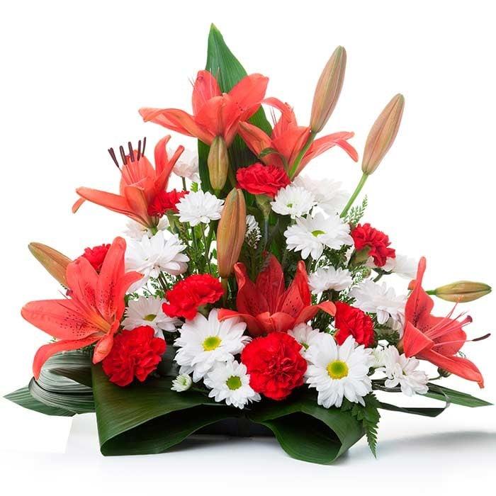 Centros de flores para funeral