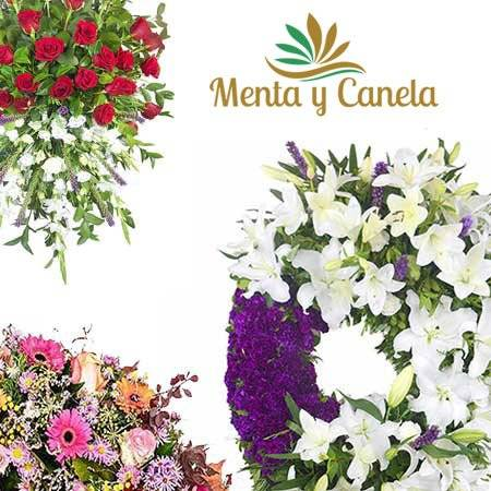 Flores  para enviar al Tanatorio de la  M30 Madrid.