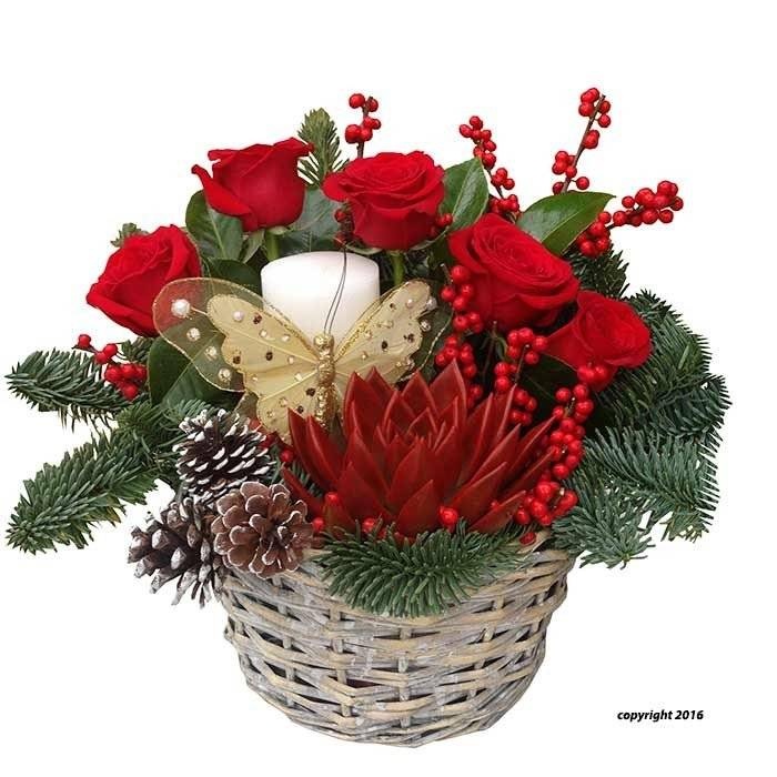 flores de pascua a domicilio