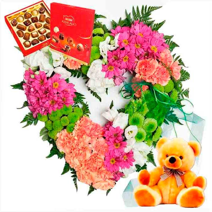 flores san valentin madrid