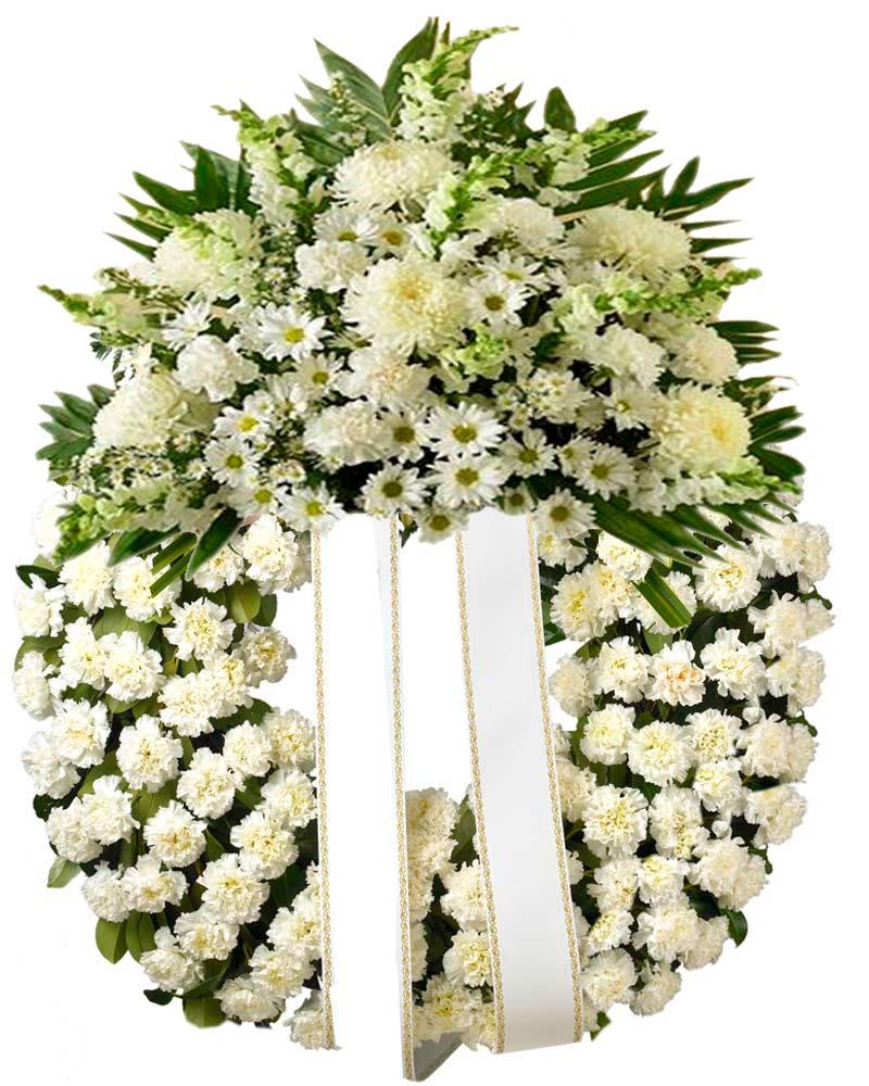 precio corona de flores