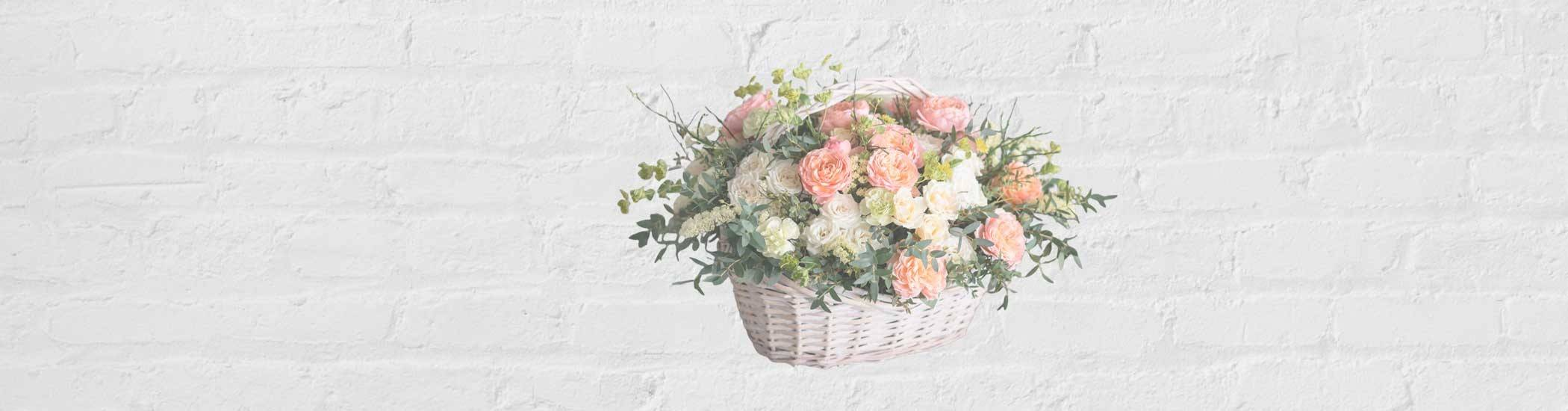 #cestas de flores
